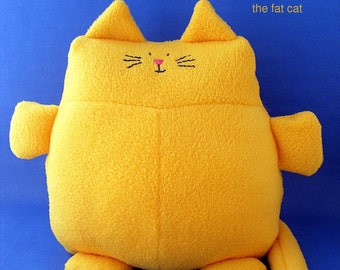 Franklin the Fat Cat - stuffed animal pattern PDF
