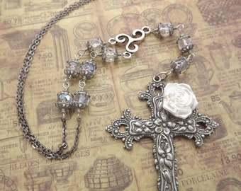 Gothic Rosary Necklace