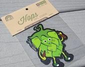 Hops Beer Sticker, IPA Stickers
