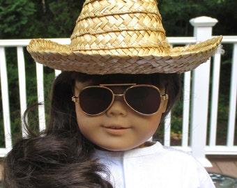 AG Cowboy Hat, Boots & Sunglasses