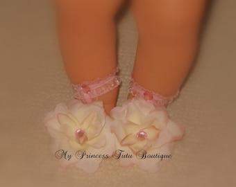 Flower Baby Footies Baby Footsies Newborn Footsies