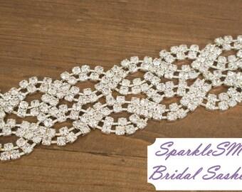 Bridal Sash, Wedding Sash, Bridal Belt, Crystal Bridal Belt, Wedding Sash, Swarovski Sash, Rhinestone Sash Bridal Dress Sash Prom Dress Sash