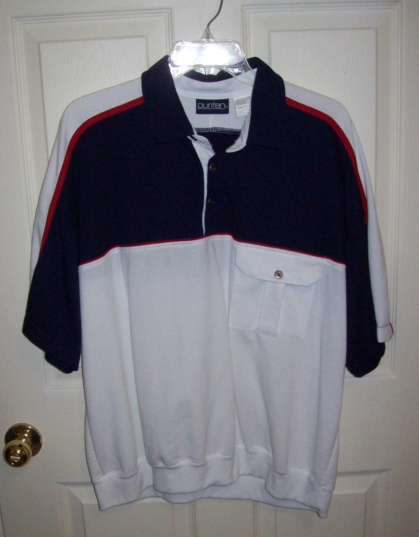 Sale 40 Off Vintage Men 39 S Banded Bottom Shirt By Puritan