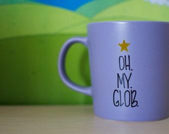 Adventure Time Lumpy Space Princess Oh My Glob Purple Mug