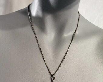 Fiddlehead Sterling Silver Pendant