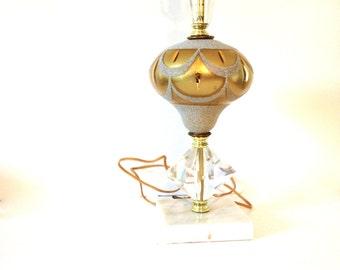 Hollywood Regency Table Lamp - vintage