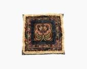 Cushion Pillow Cover feature Pom Poms HMONG Hill Tribe Thailand Fair Trade Handmade (CS011P-MOB1712)