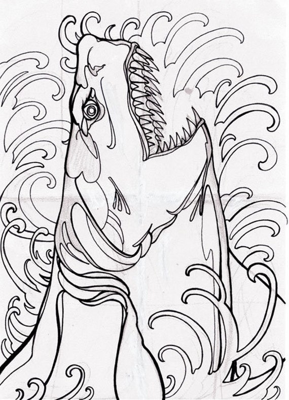 cryptids coloring pages - photo#31