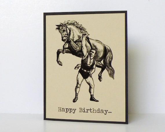 funny birthday cards manlyman handmade birthday cards, Birthday card