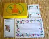 """Vintage 60's """"RECIPE CARDS""""  LOT of 64 along with 14 Canning Labels"""