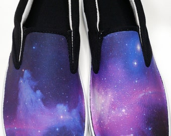 Custom Galaxy Canvas Shoes