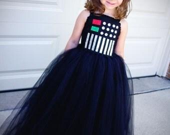 Darth Vader Tutu Dress- long
