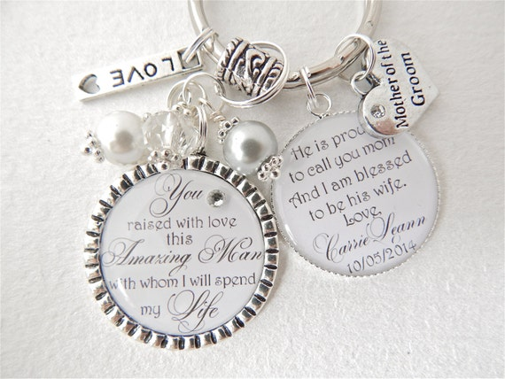 Special Bridal Shower Gift For My Daughter : ... my dreams Keychain Daughter in Law Mother in Law Bridal Shower Gift