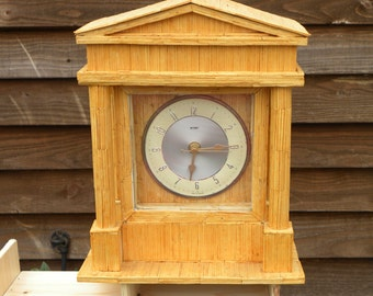 Matchstick Clock Colonial Style Battery Movement