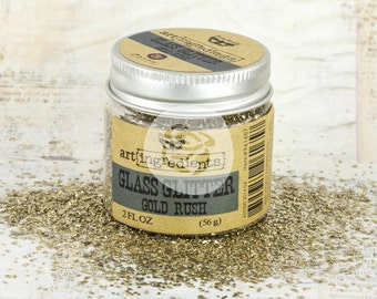 Prima GOLD RUSH GLASS Glitter