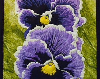 Remember Me Pansy Quilt Pattern