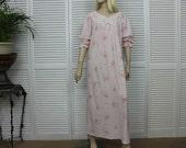 Vintage Light  Pink Nightgown Size Small/Medium