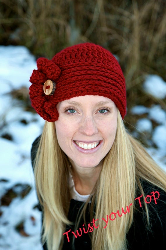 Win a crochet beanie from Twist Your Top!