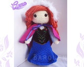 Crochet Doll - Frozen Inspired- Princess Anna Inspired- Special Edition