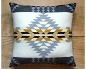 Wool Pillow - Native Geometric Southwest - Pendleton Blanket