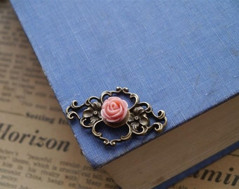 12 pcs Dusty Rose Pink Resin Cabochon 11mm (RCB964)