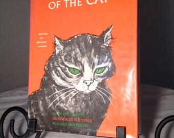 Vintage Hardcover Book The Personality of the Cat Photos Poetry Stories 1978