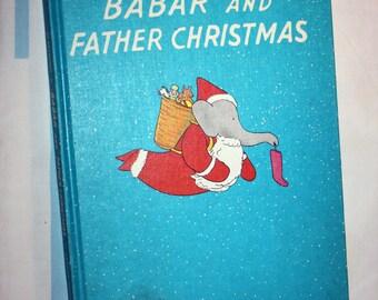 Babar And Father Christmas, 1968 Random House book