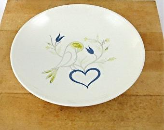 """Homer Laughlin Rhythm 8"""" Vegetable Bowl / Pattern A 52 N 4"""