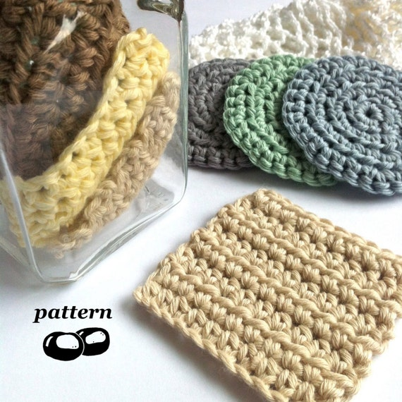 Crochet Cosmetic Bag Pattern : ... Crochet Scrubbie Pattern / Crochet Laundry Bag Pattern / Makeup
