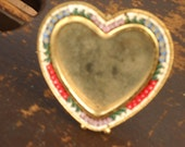 Mili Flori Heart Picture Frame Made in Italy
