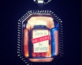 Bookish necklace for curious people: Dorothy Parker