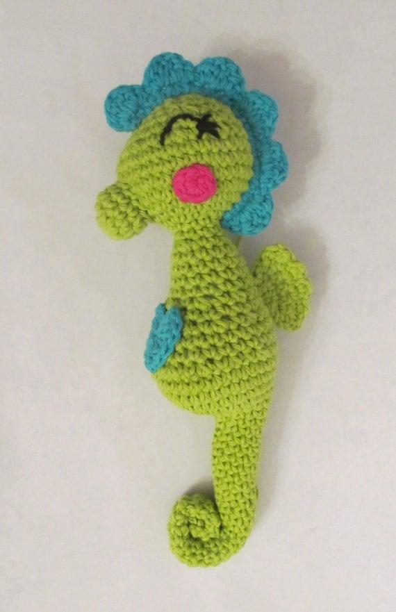 Free Amigurumi Seahorse : CROCHET PATTERN: Amigurumi Seahorse stuffed toy permission