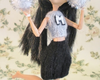 Custom Cheerleading Uniform For Fashion Dolls