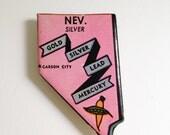 Nevada magnet Vintage puzzle piece