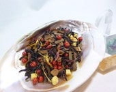 1 oz September Whiskey Tea - black tea - Peach apricot cinnamon and spice