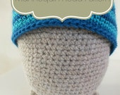 CROCHET PATTERN Adult or Large Child Size  Mannequin Head Hat Display