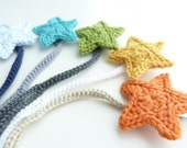 Any Color--MAM Pacifier Clip--Crochet Star pacifier clip--Baby boy accessories--Sweetlace Shop