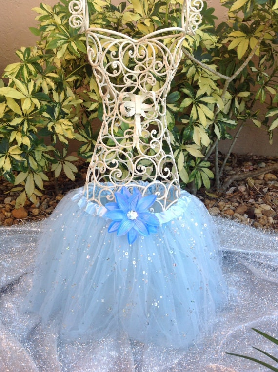 Blue Tutu, Frozen Tutu, Blue Tutu Skirt, Disney Frozen Party Favors, Ballet Tutu Child Toddler Infant, Blue Sparkle Tutu