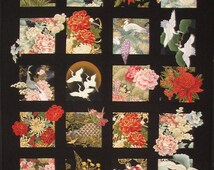20 Asian Blocks Quilt Pattern DIY Quilting Great for Large Scale Fabrics DIY Quilting Sewing