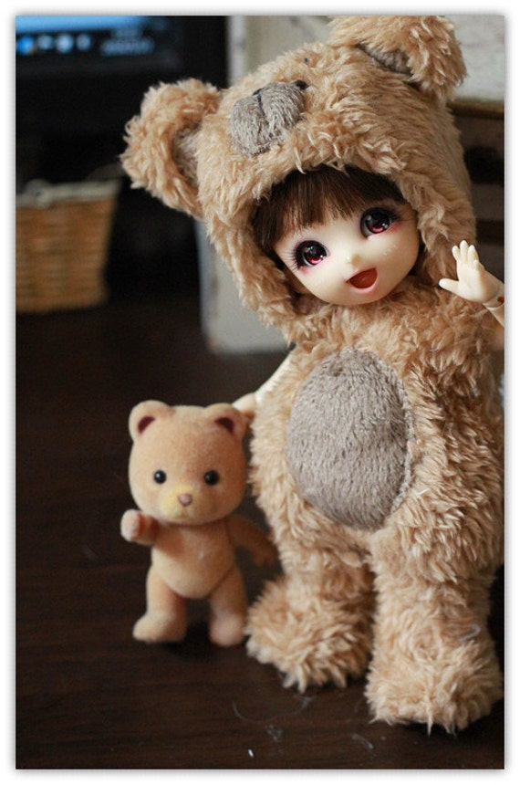Bear Outfit For Lati Yellow or Pukifee