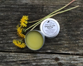 Dandelion, Plantain Drawing Salve - for Rough Skin Areas