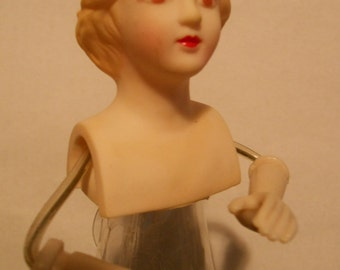 Small Angel Making Supply Doll Form Torso with Arms Plastic