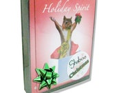 Boxed Christmas Holiday Cards with Amorous Squirrel