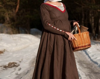 20% DISCOUNT! Kirtle Renaissance Custom Medieval Dress