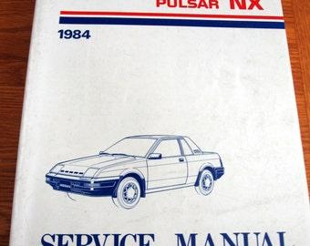 SALE 1984 Nissan Pulsar NX Full Size Factory Service Manual