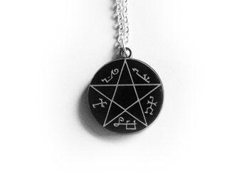 Devil's Trap Necklace - Supernatural Inspired