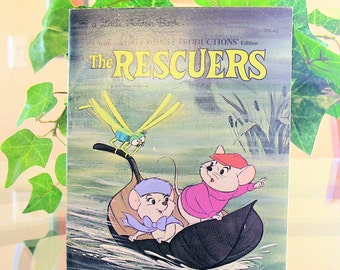 DISNEYS The RESCUERS a Little Golden Book Paperback 1977