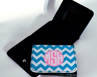 Personalized Monogram Girl's Wallet - Custom Made - Design your own