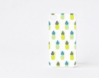 Pineapple Bicolor iPhone 4 Case - Fruit iPhone 4s Case - Pineapple Print iPhone 5 Case - Fruit iPhone Case - Accessories for iPhone 5s