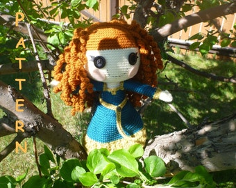 Merida Inspired LalaLoopsy PATTERN
